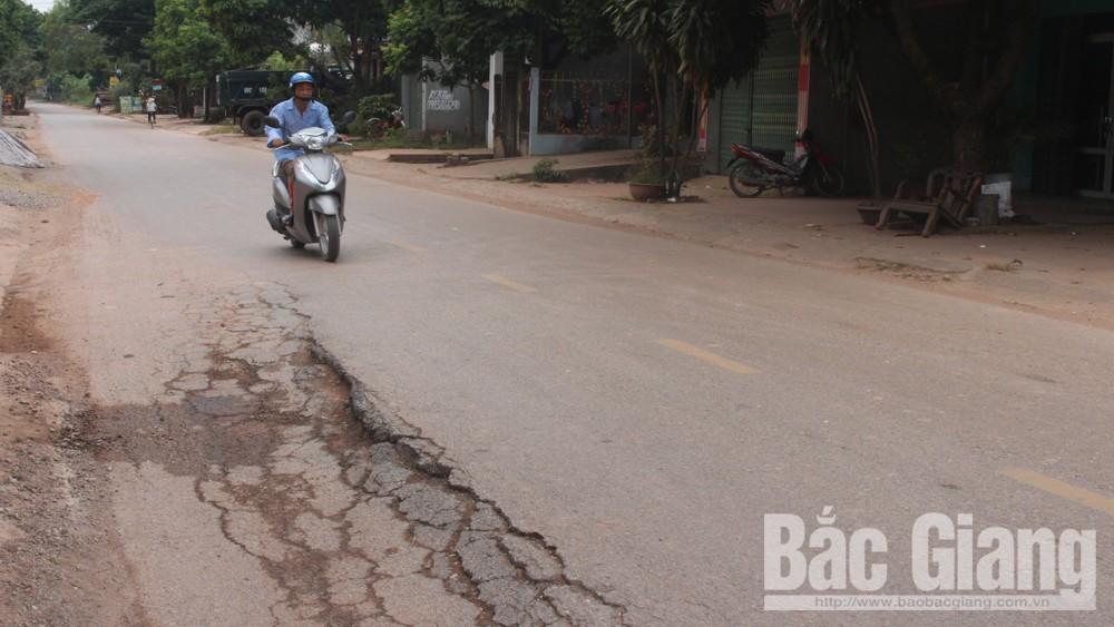 Hơn 122 tỷ đồng cải tạo, sửa chữa quốc lộ 17 đoạn Việt Yên –Tân Yên