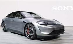 Sony bất ngờ trình làng mẫu xe điện Vision-S