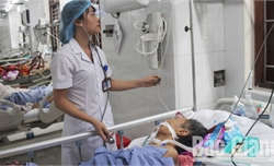 Bắc Giang: Bệnh nhân nhập viện do rượu, bia giảm