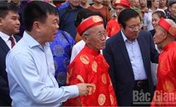 Bí thư Huyện ủy Lạng Giang Tạ Huy Cần: Tiếp tục nâng cao chất lượng các tiêu chí theo hướng bền vững