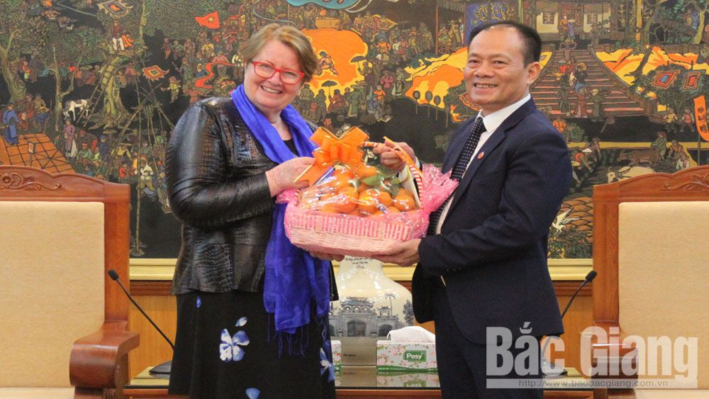 Bac Giang province, Lai Thanh Son, representative of YWAM, Youth With A Mission, Tet greetings,  rural development,