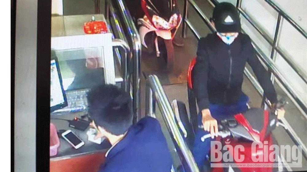 trộm cắp tài sản; Bắc Giang, TP Bắc Giang.