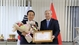 Former governor of RoK province honoured