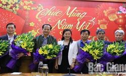 Thường trực Tỉnh ủy Bắc Giang gặp mặt các đồng chí thuộc BTV Tỉnh ủy quản lý nghỉ hưu năm 2019