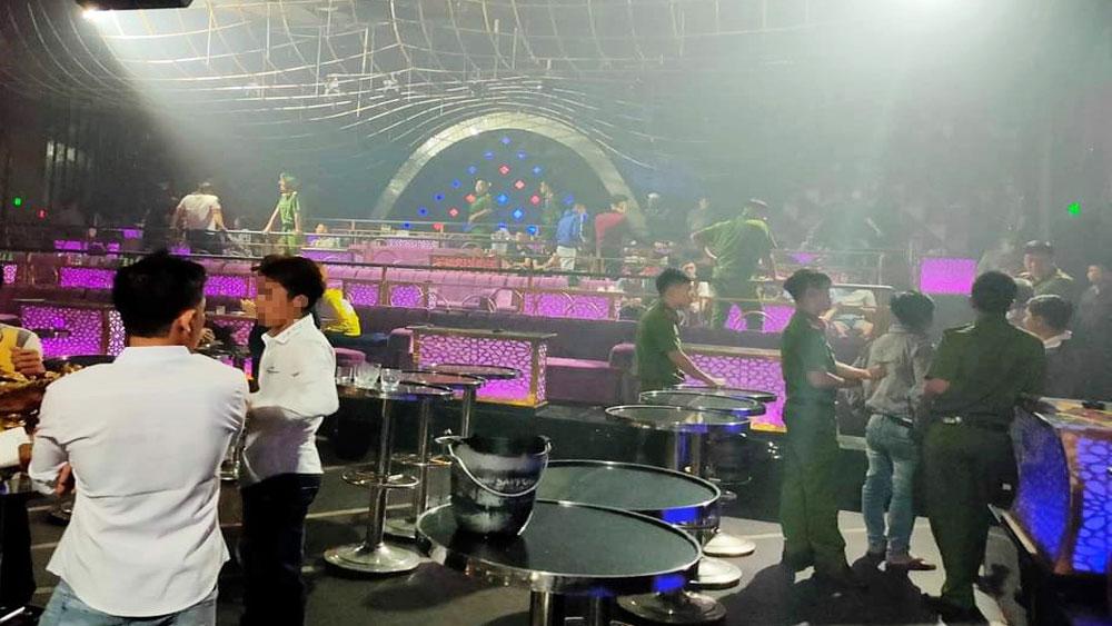 Phát hiện nhiều đối tượng sử dụng ma tuý trong quán bar ở Đồng Nai
