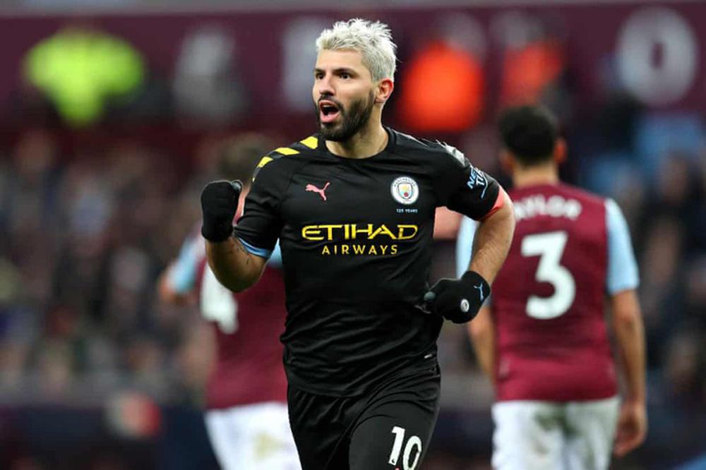 Aston Villa 1-6 Man City, tường thuật Aston Villa 1-6 Man City, clip Aston Villa 1-6 Man City, aguero hat-trick, bóng đá anh