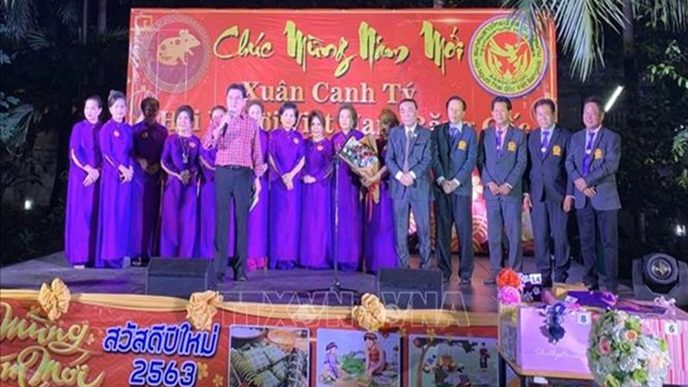Overseas Vietnamese, traditional New Year, wide range of activities, Vietnamese and international friends, traditional dishes