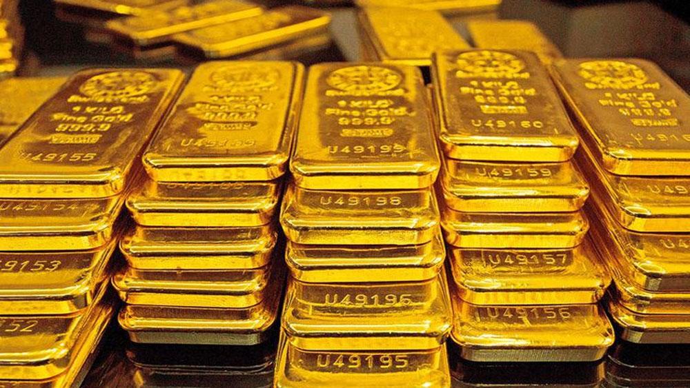 Đầu tuần, giá vàng chững lại, USD giảm sâu