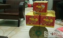 Bắc Giang: Tạm giữ một thanh niên mua pháo để đốt