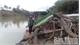 Bắc Giang: Bắt giữ một tàu khai thác cát trái phép trên sông Thương