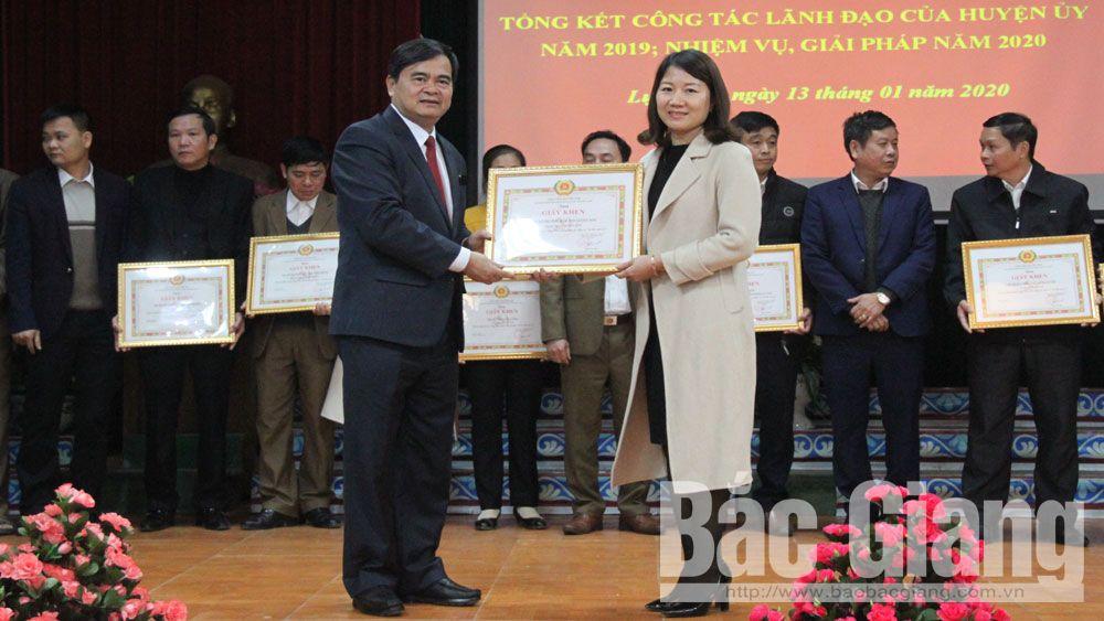 Lục Nam: Bảo đảm các điều kiện tổ chức thành công đại hội đảng các cấp