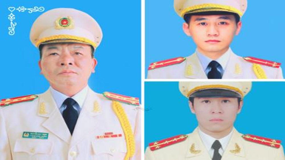 Bộ Công an thông báo về Lễ tang 3 cán bộ, chiến sĩ Công an hy sinh trong vụ việc tại Đồng Tâm