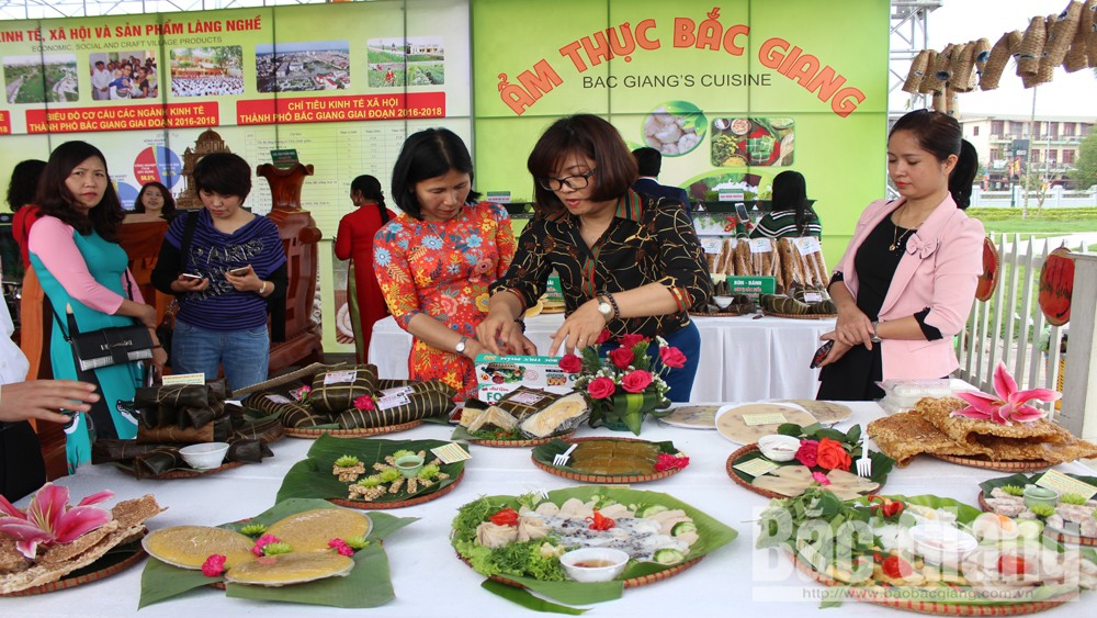Bac Giang city, Bac Giang province, cultural space, rural market, culinary festival,  Culture – Tourism Week, Xuong Giang Victory, local unique cuisine