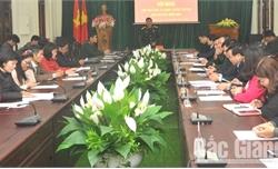 Bộ CHQS tỉnh Bắc Giang gặp mặt các cơ quan báo chí, tuyên truyền