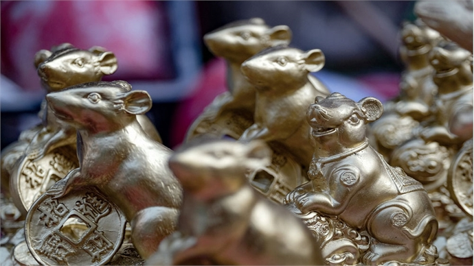It's a golden time for rats at Bat Trang pottery village