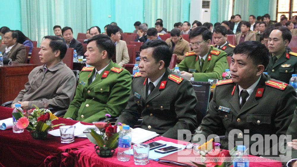 phòng chống tội phạm, tệ nạn xã hội, an toàn giao thông, Lục Nam, Bắc Giang.