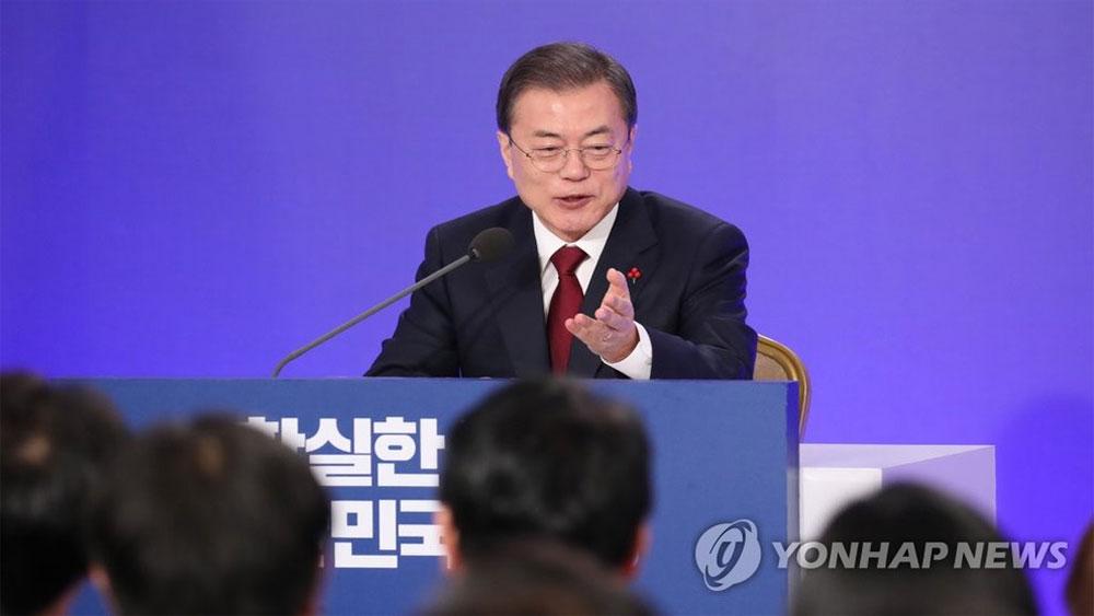 Tổng thống Hàn Quốc, lạc quan ,quan hệ liên Triều, Mỹ - Triều