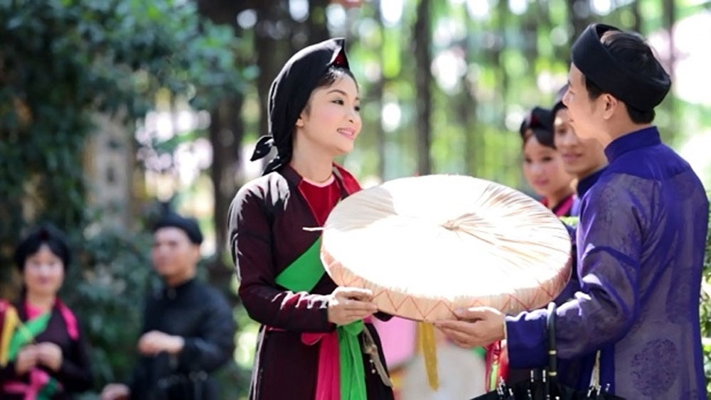 Bac Ninh, Hanoi, culture and tourism week, early March, art programme, love duet singing, water puppetry performances, traditional dishes