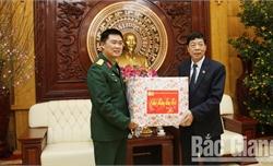 Sư đoàn 3 chúc Tết tỉnh Bắc Giang