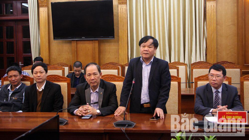 UBND tỉnh Bắc Giang, gặp mặt các cơ quan báo chí, Xuân Canh Tý, 2020