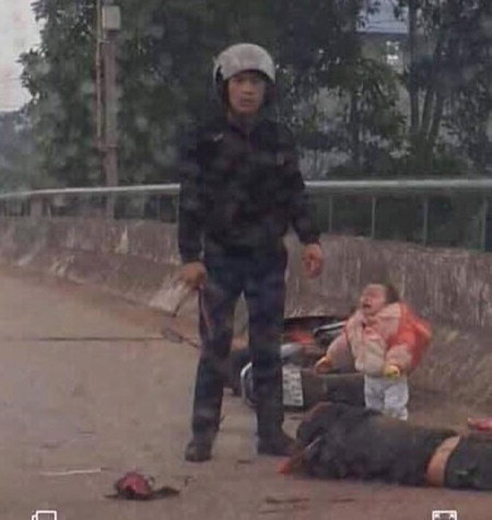 Kẻ chém phụ nữ trên cầu, đồng nghiệp cũ , nạn nhân, chị Trần Thị Huyền, La Đình Hợi
