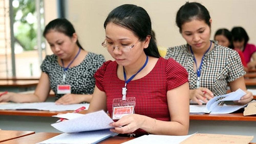 Dự thảo Quy chế thi THPT quốc gia 2020: Siết chặt khâu chấm thi