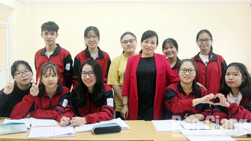Bắc Giang, Thi học sinh giỏi quốc gia, Trường THPT Chuyên Bắc Giang