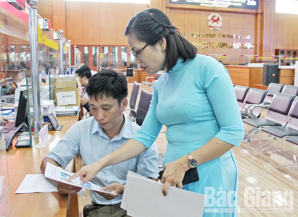 13,700 users, Bac Giang province, public administrative portal, Zalo application, administrative procedure