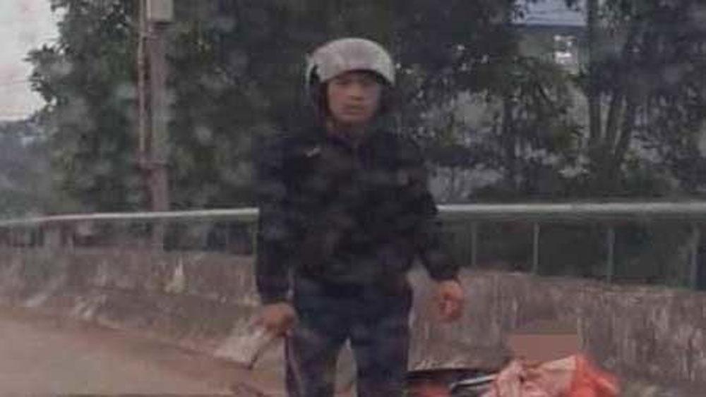 Kẻ chém phụ nữ, Thái Nguyên, sa lưới, nghi phạm La Đình Hợi, chị Trần Thị Huyền