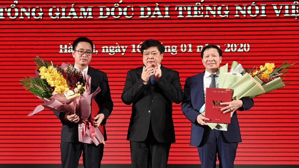 Trao quyết định, Thủ tướng, bổ nhiệm, 2 Phó Tổng Giám đốc VOV, ông Phạm Mạnh Hùng, Vũ Hải Quang