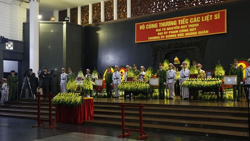 Thủ tướng đến viếng 3 chiến sĩ công an hy sinh ở Đồng Tâm