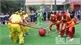 Bảo tàng tỉnh Bắc Giang tái hiện nghi lễ và trình diễn trò chơi móc cầu