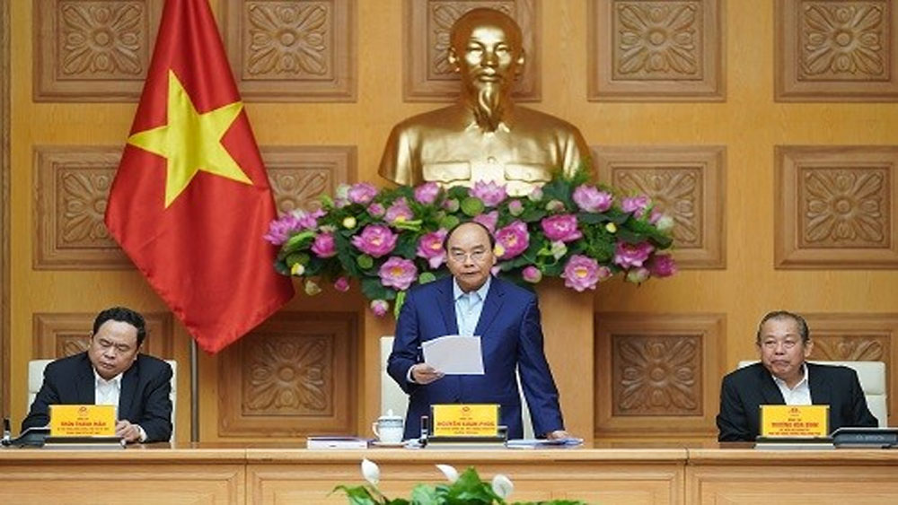 Thủ tướng chủ trì họp Tiểu ban KT-XH phục vụ Đại hội Đảng XIII