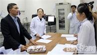 Kiểm tra công tác y tế phục vụ Tết Nguyên đán