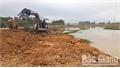 San lấp mặt bằng xây dựng cây xăng tại xã  Dương Đức (Lạng Giang): Người dân bức xúc, vì sao?