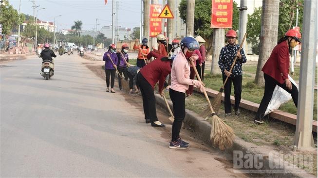Phát động Tuần lễ vệ sinh môi trường đón xuân