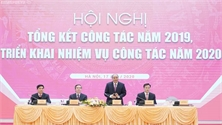 Thủ tướng Nguyễn Xuân Phúc dự Hội nghị triển khai nhiệm vụ năm 2020 của Ban Kinh tế Trung ương