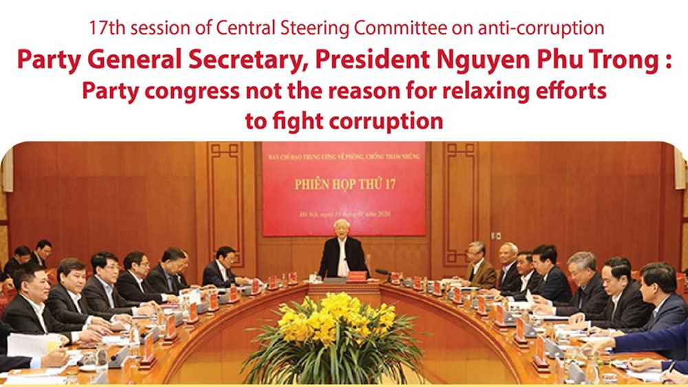 17th session of Central Steering Committee for Anti-Corruption