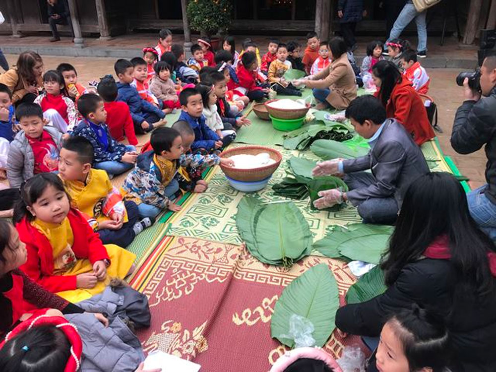 traditional Tet activities, Vietnam National Museum of Ethnics,  traditional activities,  cultural heritages, Tet Festival