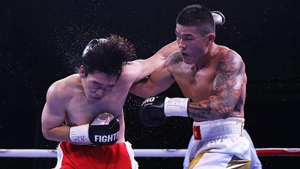 Vietnamese boxer, WBA title, next month, World Boxing Association, 76-kg category belt, 2020 Olympic qualifiers