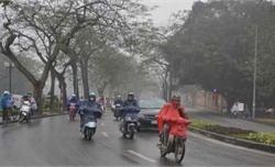 Thời tiết ngày 19-1: Bắc Bộ tiếp tục mưa nhỏ, trời rét đậm, có nơi dưới 12 độ C