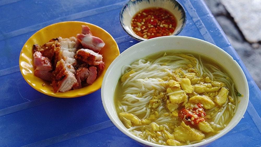 Chau Doc, fish noodle soup, snakehead fish, unique aromatic texture, subtle fatty taste, An Giang province