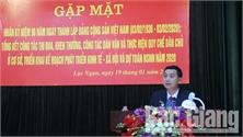Gặp mặt kỷ niệm 90 năm ngày thành lập Đảng Cộng sản Việt Nam