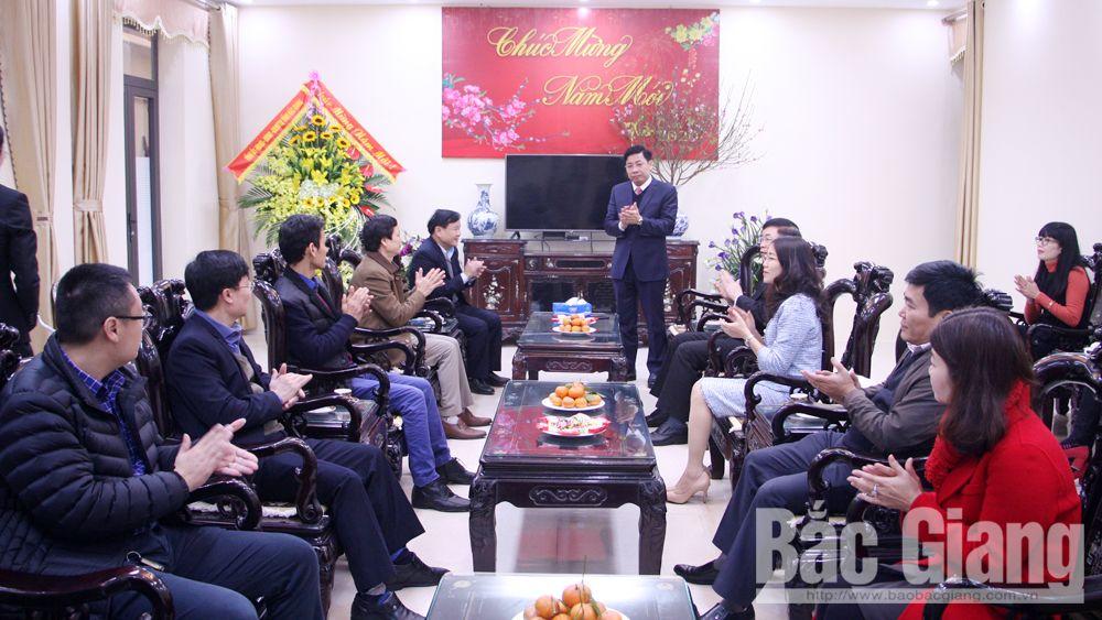 chúc Tết, Chủ tịch UBND tỉnh, Dương Văn Thái, Báo Bắc Giang