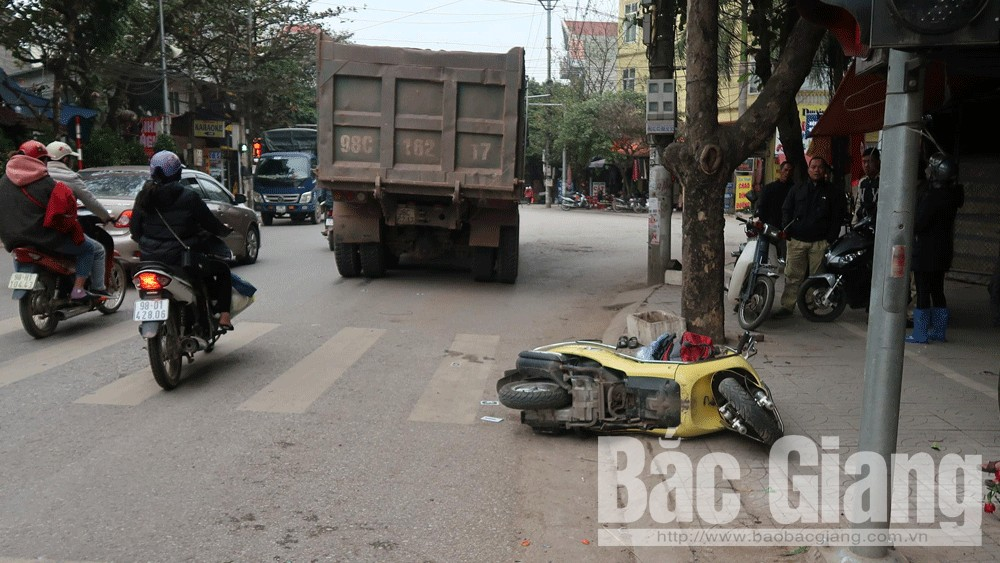 tai nạn giao thông, Bắc Giang, TP Bắc Giang