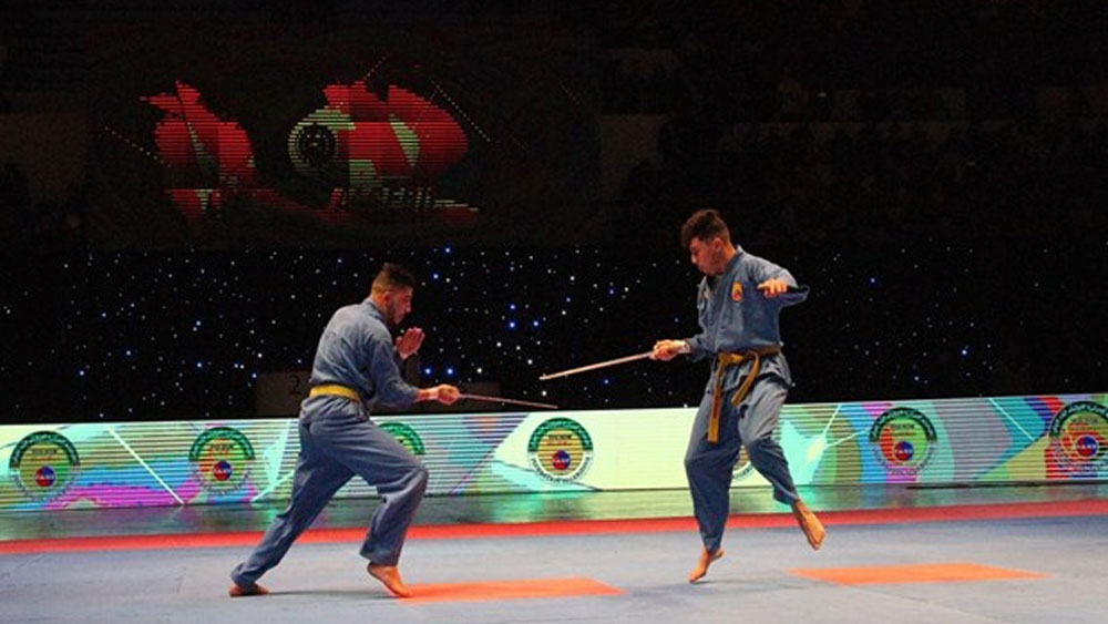 Algerian tournament, Vietnamese martial art, final round, Vovinam championships,  final round, practice of Vovinam