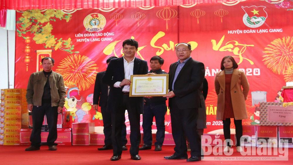 Bắc Giang; Lạng Giang; Liên đoàn lao động huyện; May Năm Châu.