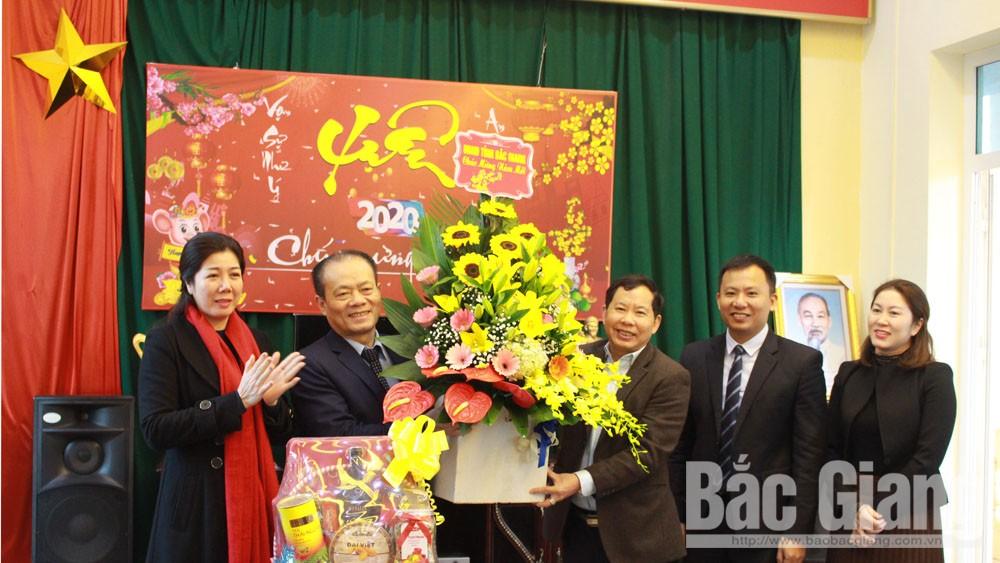 Đồng chí Lại Thanh Sơn, thăm chúc Tết, doanh nghiệp, vận tải, giao thông, đường bộ