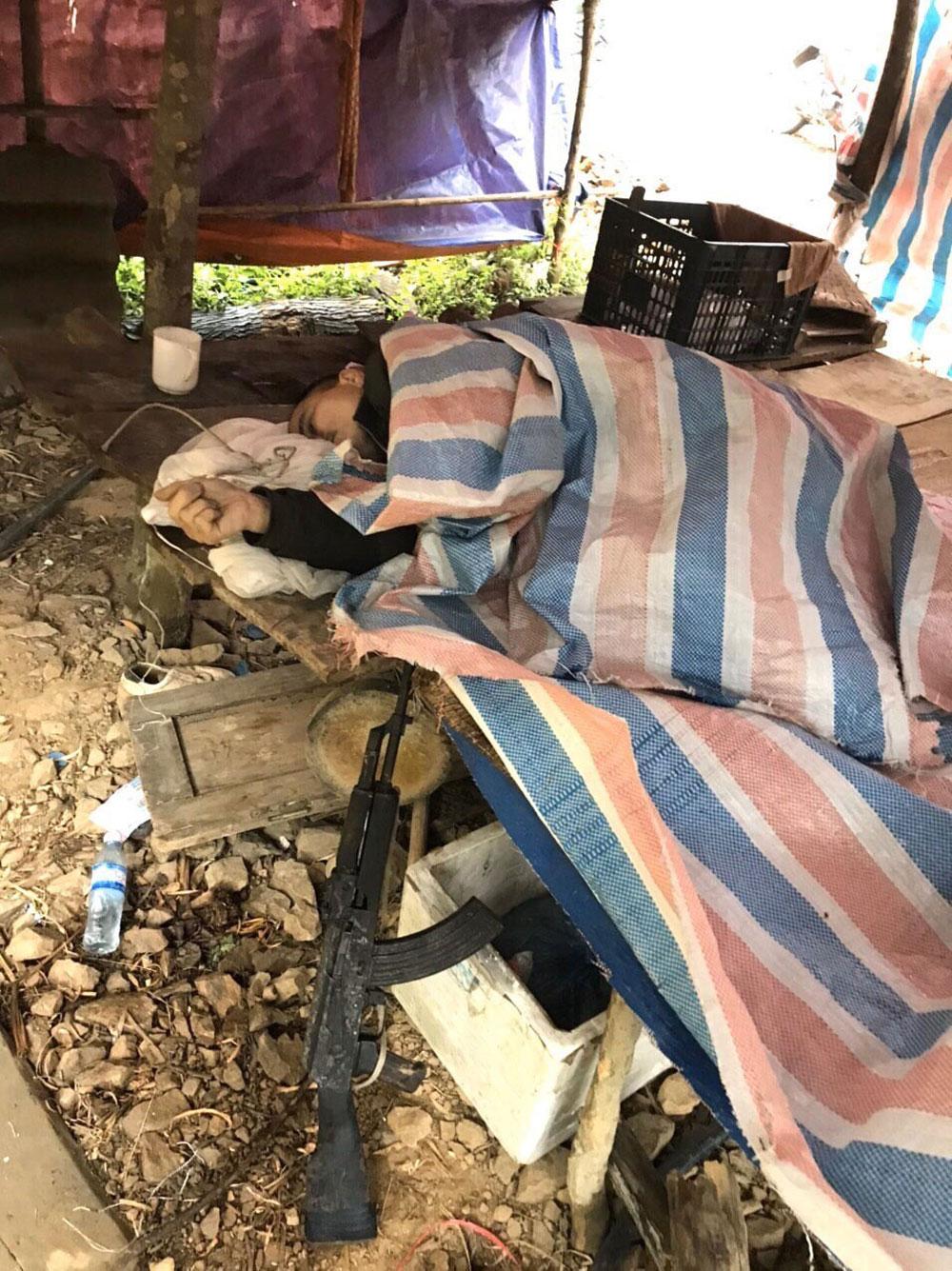 Vụ nổ súng làm nhiều người thương vong tại Lạng Sơn, Kẻ thủ ác, chết trong rừng,  đối tượng Lý Văn Sắn,