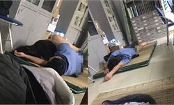 """Tạm đình chỉ 15 ngày với bác sĩ bị tố """"ôm nữ sinh viên ngủ trong ca trực"""""""